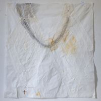 Duas lamparines by Karin Lambrecht contemporary artwork mixed media
