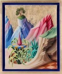 Pasquale's Ridge by Peter Daverington contemporary artwork painting