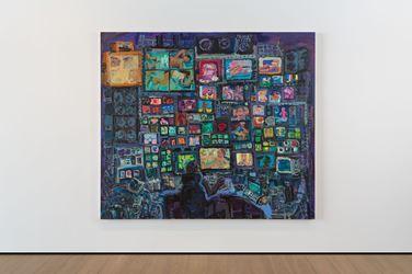 Exhibition view: Todd Bienvenu,Slapstick,Almine Rech Gallery, London (24 November 2018–12 January 2019). Courtesy Todd Bienvenu and Almine Rech.Photo: Melissa Castro Duarte.