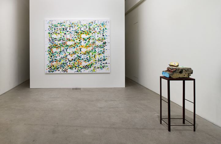 Exhibition view: Tanya Goel, Equations in a Variable, Galerie Urs Meile, Lucerne (14 November 2019–1 February 2020). Courtesy the artist and Galerie Urs Meile.