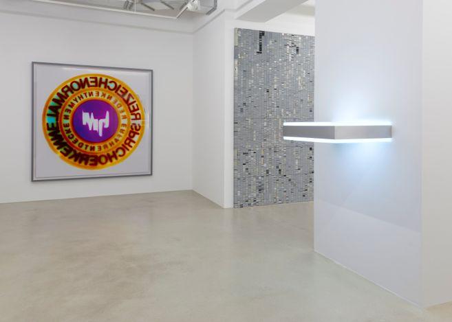 Exhibition view: Philipp Goldbach,Musée Imaginaire, SETAREH X,Düsseldorf (8 April–12 June 2021). Courtesy SETAREH X.