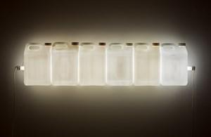 Strait (White) by Bill Culbert contemporary artwork
