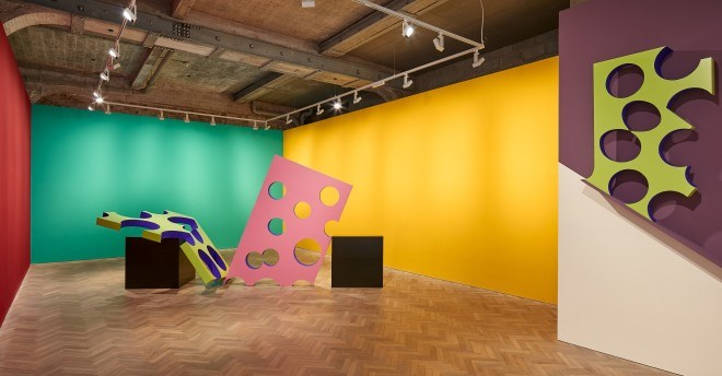 Exhibition view: Phillip King, Colour on Fire & Ceramics 1995-2017, Thomas Dane Gallery, London (29 November 2017–17 February 2018). Courtesy Thomas Dane Gallery.
