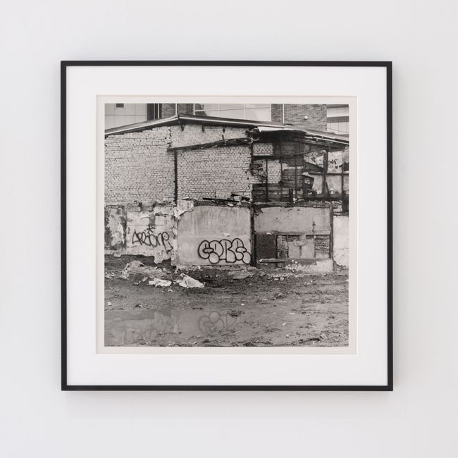 Untitled (Empty lot). Seoul, 2020. by Jookyung Lee contemporary artwork