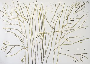 Untitled (Trees) by Marco Eusepi contemporary artwork