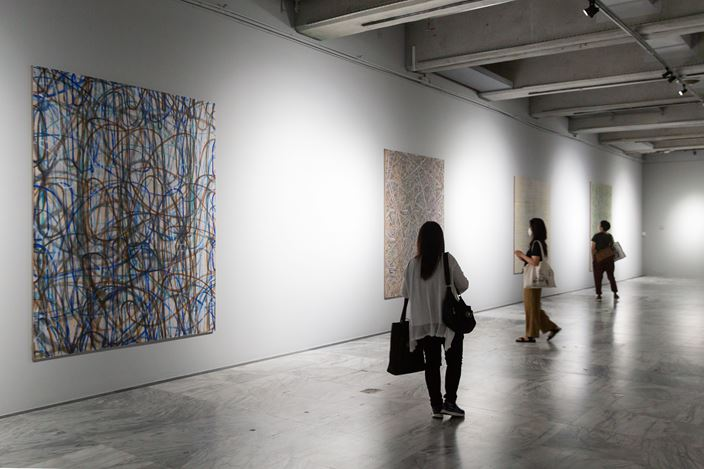Installation view: Vladimír Kokolia, Inner Emigration: The Frame of an Image Is You, Taipei Fine Arts Museum, Taipei (4 July–18 October 2020). Courtesy Taipei Fine Arts Museum.