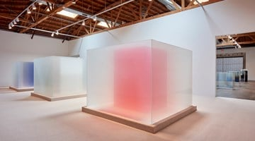 Contemporary art exhibition, Larry Bell, Complete Cubes at Hauser & Wirth, Los Angeles