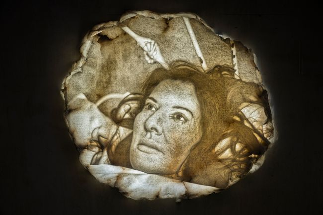Seven Deaths: The Breath by Marina Abramović contemporary artwork