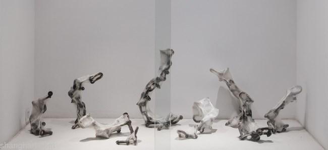 Natural Series No.200/Chain (Metal)-C by Liang Shaoji contemporary artwork