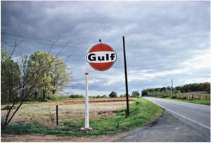UNTITLED (GULF SIGN, TENNESSEE) FROM THE SOUTHERN SUITE by William Eggleston contemporary artwork