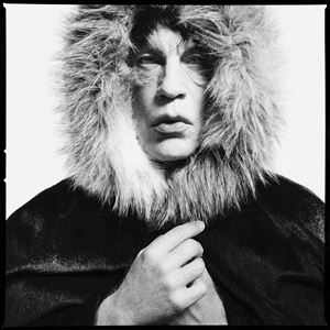 "David Bailey/ Mick Jagger ""Fur Hood"" (1964) by Sandro Miller contemporary artwork"
