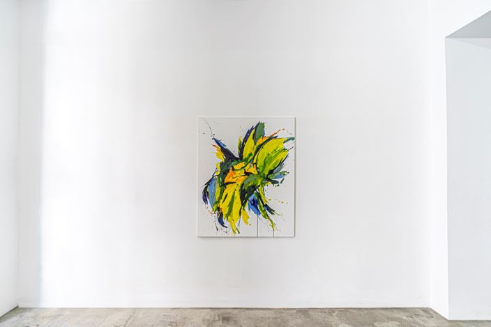 Exhibition view: Christine Jackob-Marks,In der Schwere leicht | Ligero en la gravedad, KEWENIG, Palma (18 May–12 September 2020). Courtesy KEWENIG.
