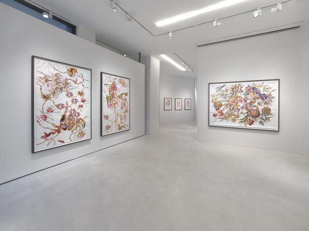 Exhibition view: Miron Schmükle, Bulb Fiction, SETAREH, Düsseldorf (22 April–3 June 2021). Courtesy SETAREH.