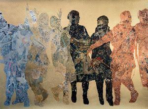 Frieze #6 by Aziz + Cucher contemporary artwork