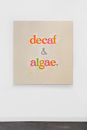 decaf & algae. by Ricci Albenda contemporary artwork