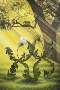 알프스 민들레, Alps Dandelion by Jang Jongwan contemporary artwork painting
