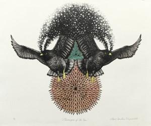 Messengers of the Sun by Albert Yonathan Setyawan contemporary artwork