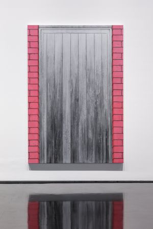Silver and Pinks by Andrew Browne contemporary artwork