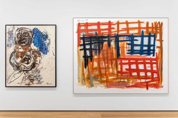 Exhibition view: Group Exhibition, Portraits / Abstraits, Almine Rech, Avenue Matignon, Paris (9 September–9 October 2021). Courtesy Almine Rech.