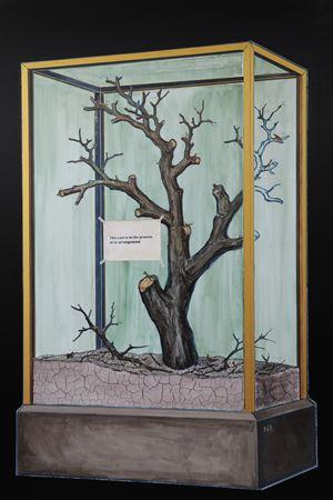 Ancient Archive Specimen–Rearrangement 古籍标本 - 维护中 by NI Youyu contemporary artwork