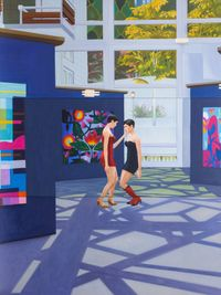 Home Sweet Home: Solitary 5 by Mak Ying Tung 2 contemporary artwork painting