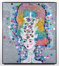 see ya mumma by Del Kathryn Barton contemporary artwork painting