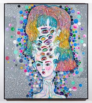 see ya mumma by Del Kathryn Barton contemporary artwork
