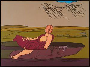 L'incantesimo del lago by Valerio Adami contemporary artwork
