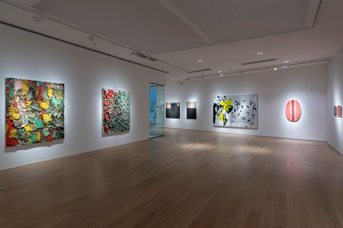 Exhibition view: Group Exhibition, Painting and Existence, Tang Contemporary Art, Hong Kong (15  February–16 March 2019). Courtesy Tang Contemporary Art.