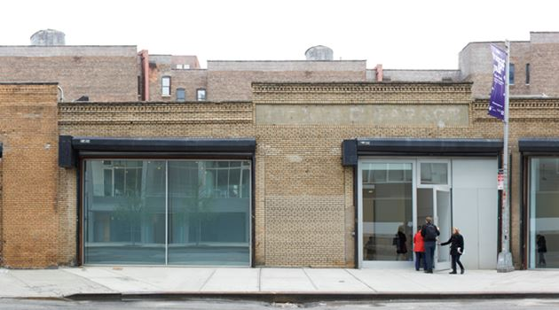 David Zwirner contemporary art gallery in 19th Street, New York, USA