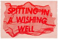 Spitting In A Wishing Well by Raul Walch contemporary artwork painting