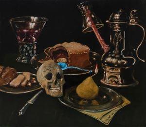 La crème de tartre hollywoodien by Jan Van Imschoot contemporary artwork