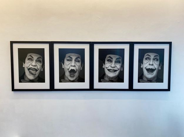 Exhibition view: Sandro Miller,Malkovich Malkovich Malkovich! Homage to photographic masters by Sandro Miller,Gallery FIFTY ONE, Antwerp (17 November 2020–30 January 2021). Courtesy Gallery FIFTY ONE.