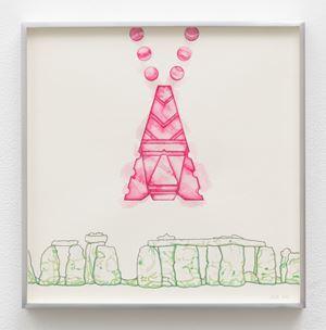 Ruins Study #3 by Linda Stark contemporary artwork