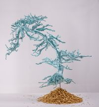 Untitled (Bonsai Tree) by Lin Tianmiao contemporary artwork sculpture
