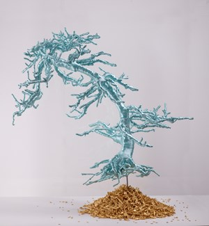 Untitled (Bonsai Tree) by Lin Tianmiao contemporary artwork