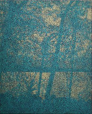 UNTITLED (LBTCNTF) by Daniel Boyd contemporary artwork