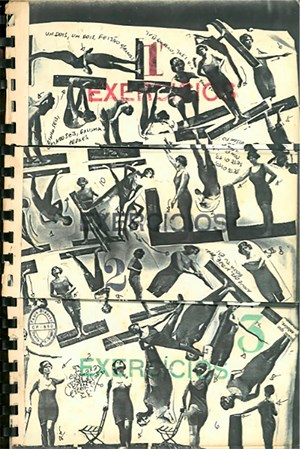 Exercises [Exercícios] by Paulo Bruscky contemporary artwork