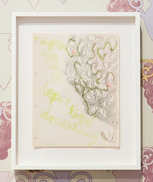Series One, Drawing No. 8 (London, August) by Marc Camille Chaimowicz contemporary artwork