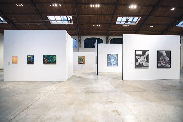 Exhibition view: Group Exhibition, American Women: The Infinite Journey, La Patinoire Royale – galerie Valérie Bach, Brussels (8 January–21 March 2020). Courtesy La Patinoire Royale – galerie Valérie Bach.