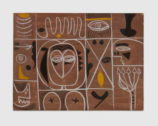 Omen by Adolph Gottlieb contemporary artwork