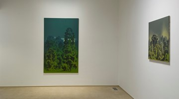 Contemporary art exhibition, Aji V.N., New Oils on Canvas at Galerie Mirchandani + Steinruecke, Mumbai, India