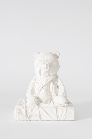 Wrapped Bear by Daniel Arsham contemporary artwork