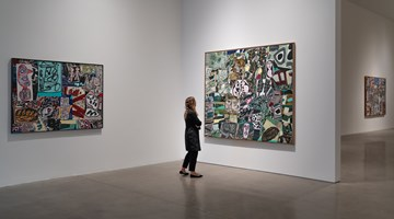 Contemporary art exhibition, Jean Dubuffet, Théâtres de mémoire at Pace Gallery, 510 West 25th Street, New York