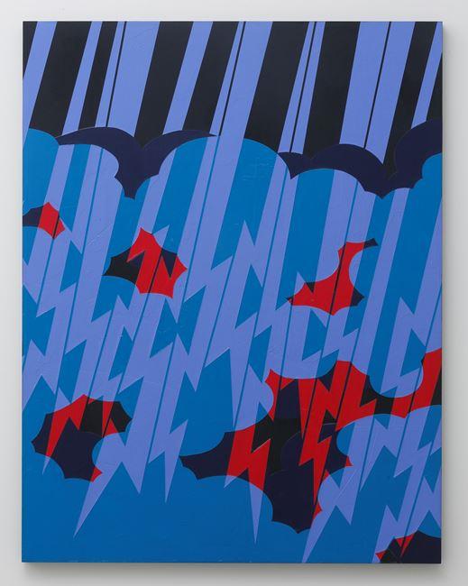 Embossed Painting Series by Noritaka Tatehana contemporary artwork