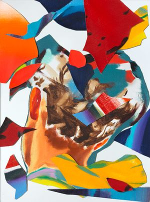 Imbranato by Norbert Bisky contemporary artwork