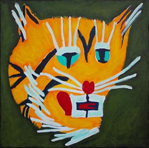 Tiger Force Member #8 by Farhad Farzaliyev contemporary artwork painting