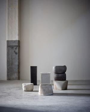 """(pleins)"" by Lucia Bru contemporary artwork"