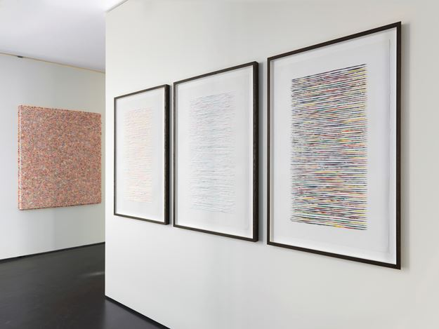 Exhibition view: Lars Christensen, Curved by Air, Anne Mosseri-Marlio Galerie, Basel (17 March–19 May 2017). Courtesy Anne Mosseri-Marlio Galerie.