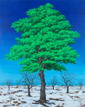 Evergreen by LIM Oksang contemporary artwork